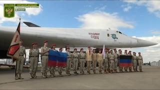 Юнармейцы ЛНР и ДНР посетили Международный авиационно-космический салон МАКС-2021