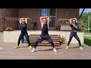 22 min DANCE workout. PART 2.