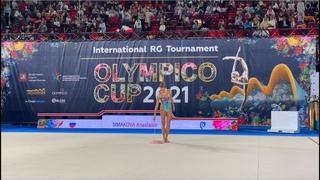 Anastasia Simakova  Ribbon AA  IT Olympico Moscow 2021