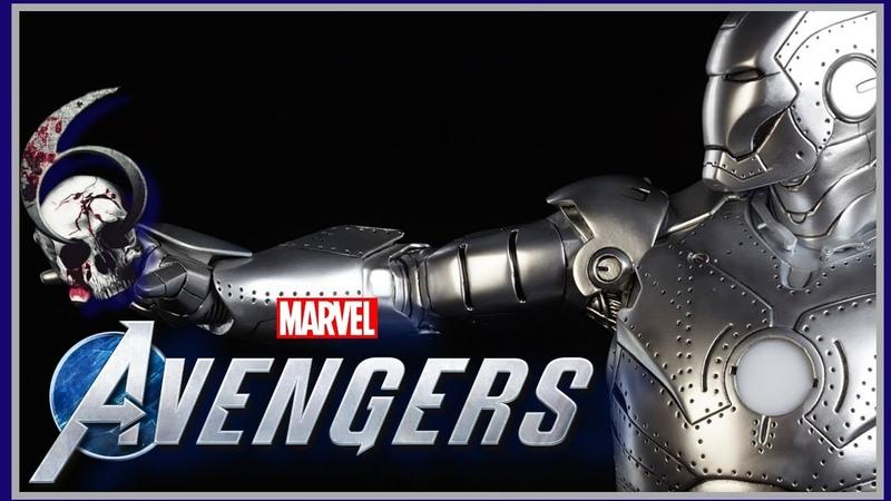 Marvel's Avengers ➤ Прохождение 4K Часть 6 БРОНЕ КАПУТ