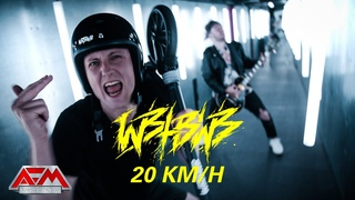 WE BUTTER THE BREAD WITH BUTTER - 20 km/h - (2021) // Official Music Video // AFM Records