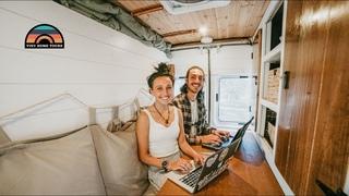 TN1 Sprinter W/ Shower Toilet & Murphy Bed - The Perfect Camper Van