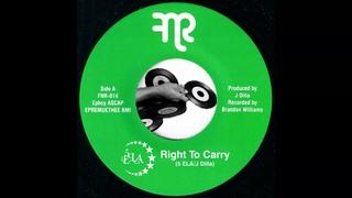 5 Ela & J Dilla - Right To Carry (orig) [Funk Night] 2011 Detroit Hip-Hip Rap 45