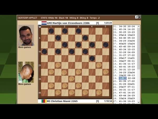 Ниами Эйзендорн Чемпионат Мира по международным шашкам 2021