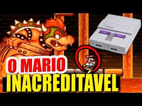 😱O Novo Mario Supremo de Super Nintendo