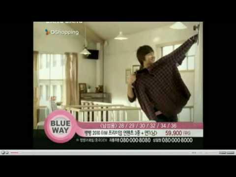 Lee Min Ho Han Ji Hye F W BangBang CF 30s @O Shopping