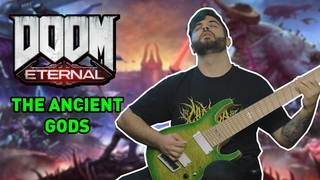THE ANCIENT GODS Credits Theme Song (David Levy, DOOM Eternal) // 9 String Guitar Cover
