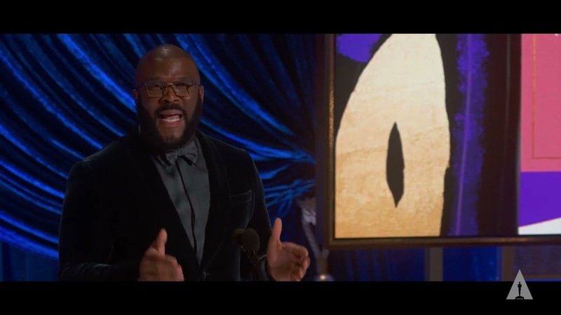 Tyler Perry receives the Jean Hersholt Humanitarian Award 93rd Oscars