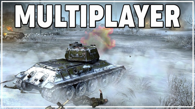 FIRST LOOK GATES of HELL MULTIPLAYER BRUTAL T 34 85 Flank OBLITERATES German ARMOUR GoH Gameplay
