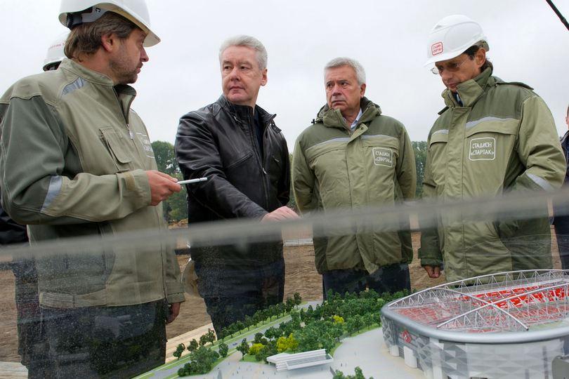 Андрей Федун, Сергей Собянин, Вагиз Алекперов и Леонид Федун