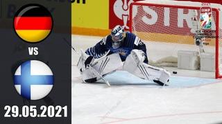 ГЕРМАНИЯ - ФИНЛЯНДИЯ ()/ ЧЕМПИОНАТ МИРА 2021/ ГРУППА B/ NHL 21 ОБЗОР МАТЧА