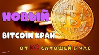 Новый жирный Bitcoin кран FaucetVille от 50 сатошей в час. Проверено платит!