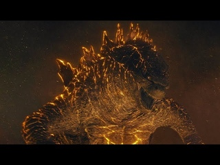 Nuclear Godzilla vs King Ghidorah   Godzilla: King of the Monsters [4k, HDR]