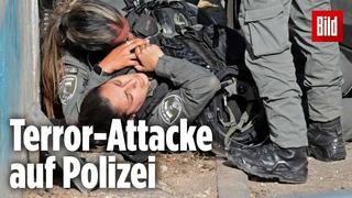 Israel: Palästinenser fährt in Gruppe Polizisten