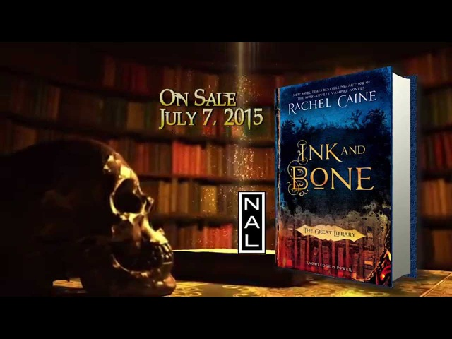 OFFICIAL BOOK TRAILER Ink and Bone Book 1 of Novels of the Great Library
