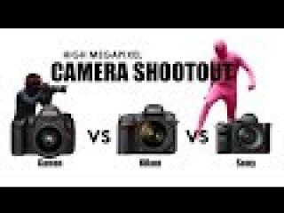 Sony A7R II vs Canon 5DS R vs Nikon D810 Camera Shootout