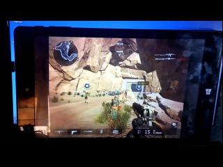 Qumo Vega 8009w тестирование игры Warface