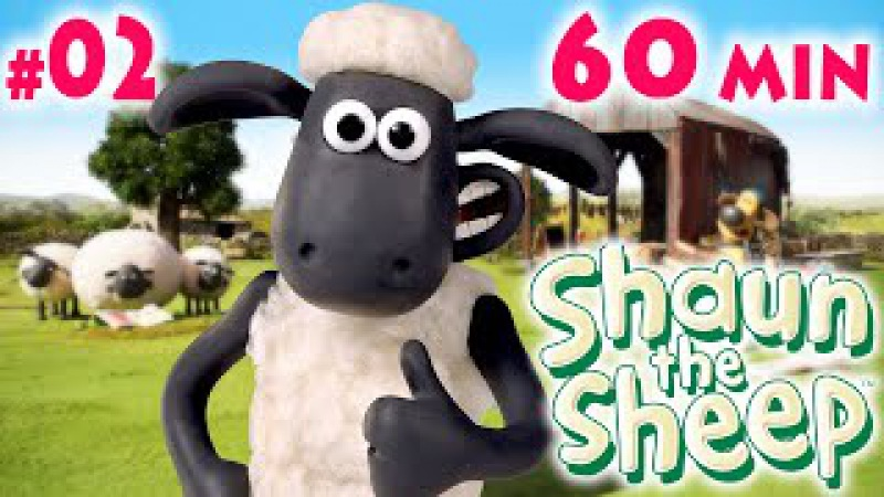 Барашек ШОН 1 сезон 11 20 серия 02 Shaun the Sheep season 1 One Hour ʕ ͡ᴥ ʔ 02 60 min