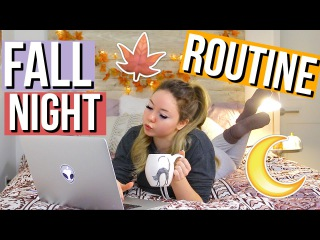 Fall Night Routine!   Meredith Foster