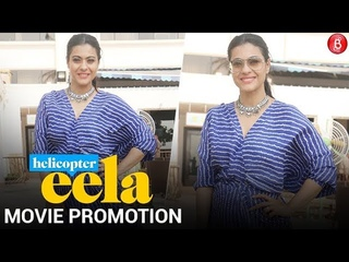 Kajol Spotted at Sun&Sand for Promotion of her movie Helicopter Eela
