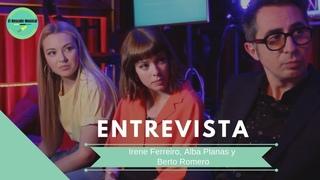 ENTREVISTA Irene Ferreiro, Alba Planas y Berto Romero - El Rescate Musical