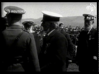 Prince of Wales visits Davenport and Plymouth (1919)