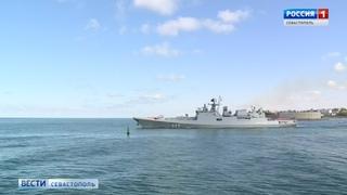 Фрегат «Адмирал Макаров» с главной иконой ВМФ взял курс на остров Корфу