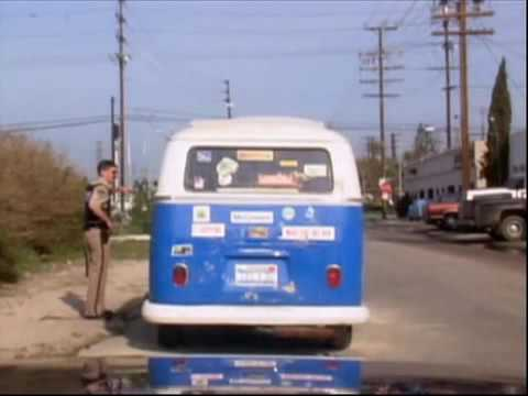 Коп остановил хиппи Рино 911