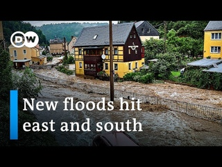Floods in Europe kill nearly 200 with over 1,000 still missing   DW News