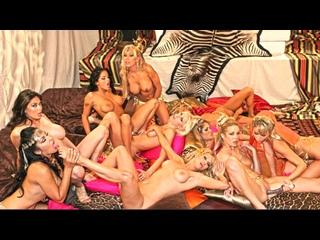 Briana Banks, Nina Mercedez, Monique Alexander, Tera Patrick, Savanna Samson, Lanny Barby, Tawny Roberts (lesbian orgy sex porn)