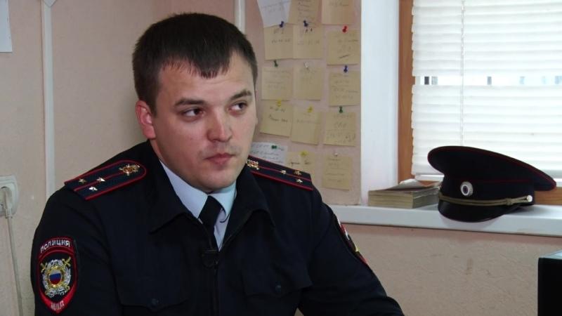 Старший участковый уполномоченный полиции отдела полиции №2 УМВД России по г Белгороду Андрей Клиндухов