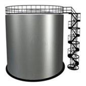 Резервуар вертикальный стальной РВС 200 м3