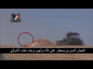 Полковник Сухейль аль-Хасан берет холм Берлехин 8 февраля 2016 :