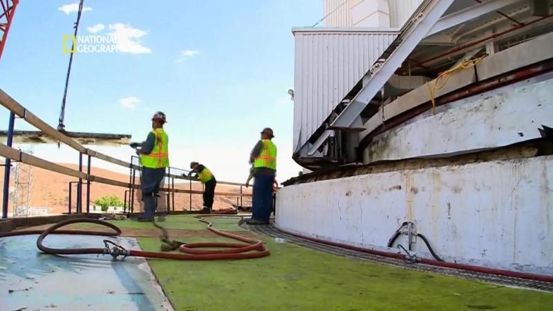 Труднейший в мире ремонт Антенна дальней космической связи Документальный 2010