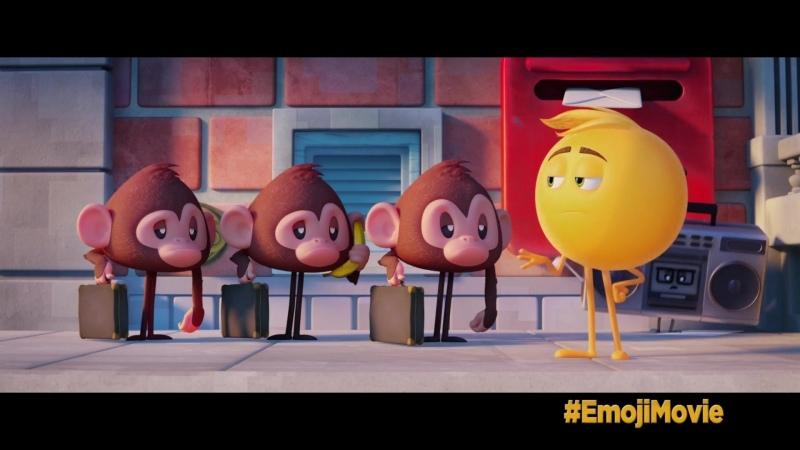 Эмоджи фильм The Emoji Movie Фрагмент 2017 1080p