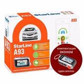 Сигнализация с автозапуском StarLine A93 ECO