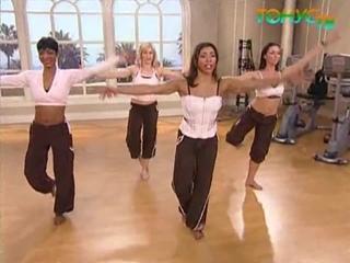 Танцевальная тренировка (Бодибалет). Джанет Дженкинс