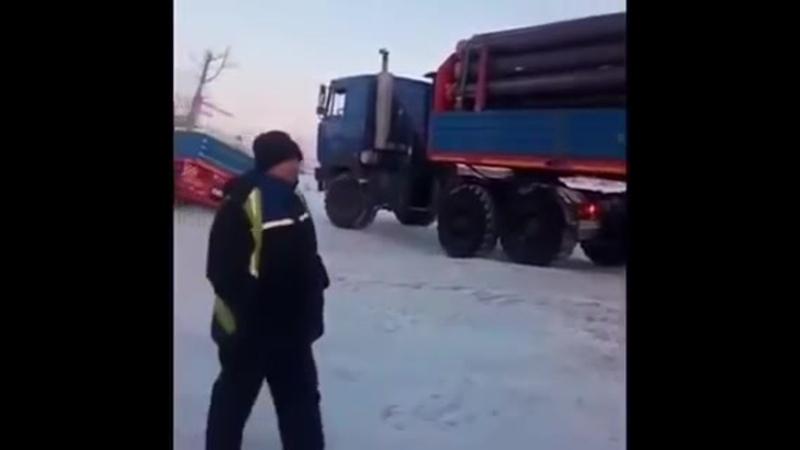 Работа на Севере Зимник Коротчаево Ванкор Март2018