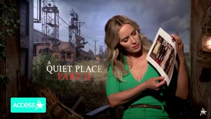 Эмили Блант говорит о Кэти Перри