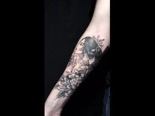 Video by ACID INK тату салон студия татуировки Питер Спб