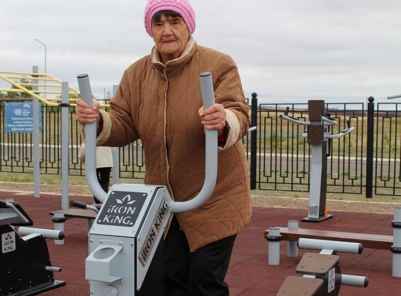 83-летняя оренбурженка выполнила нормы ГТО