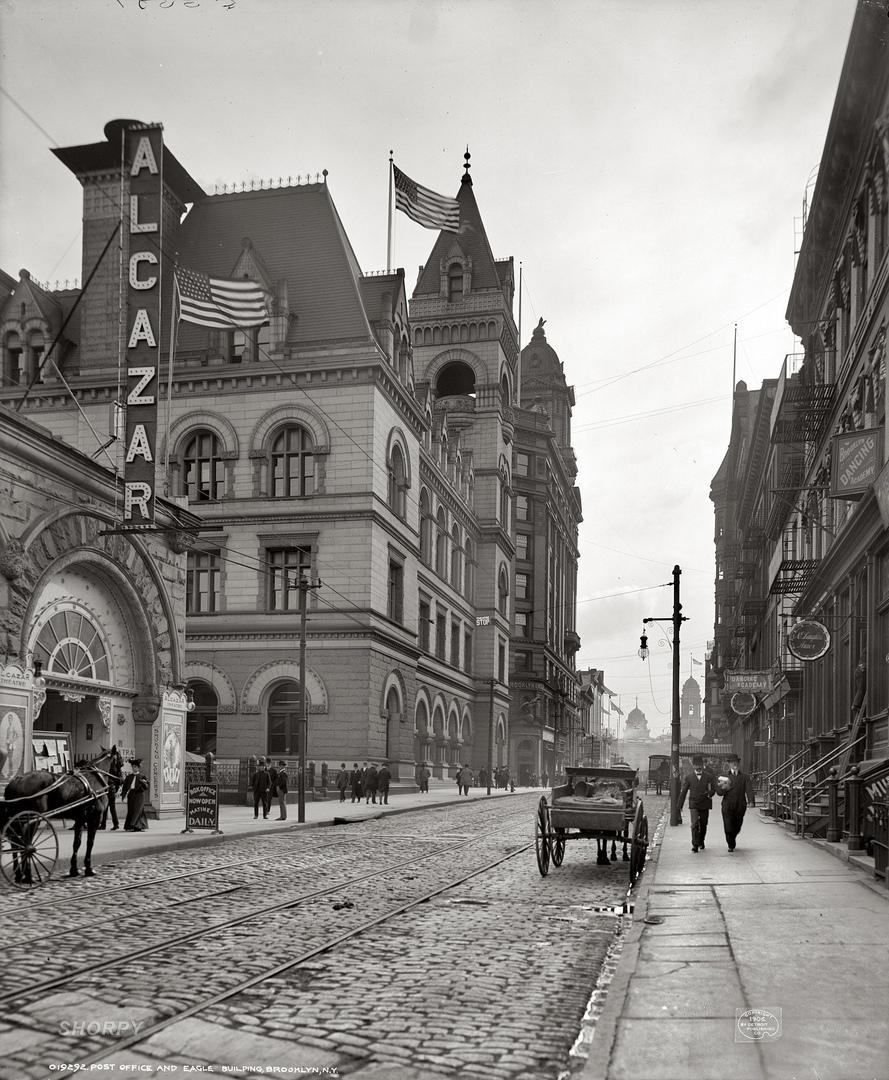 HD-фотографии городов США сделанные в 1900-1915 годах, изображение №9