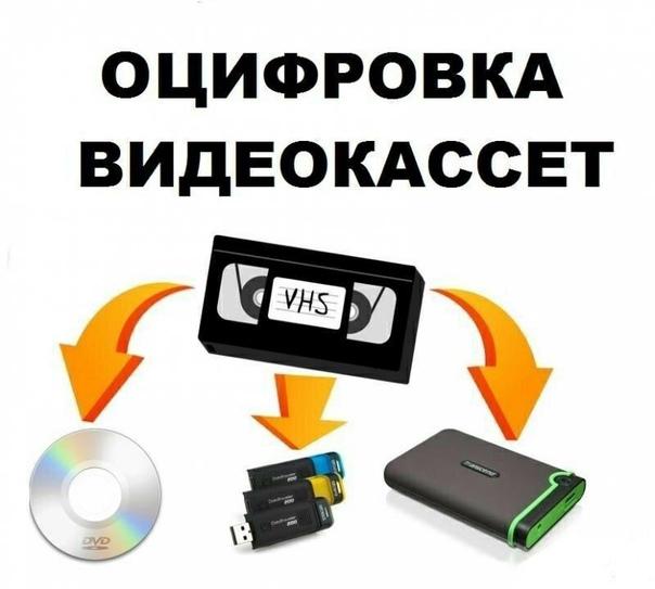 Оцифровка VHS кассет. Запись на DVD, флэшку и т.д. Возмож...