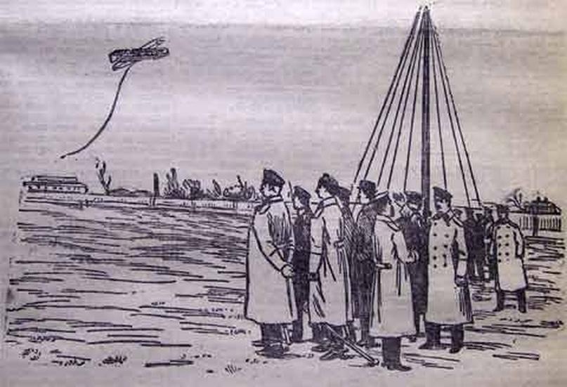 22 октября 1911 года Гатчине инженер-подполковник Д.М. Колокольцев осуществил пе...