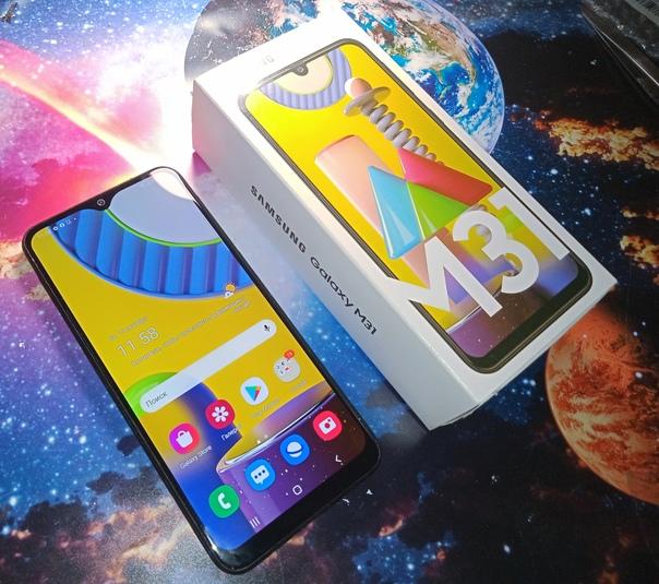 Samsung m31 6/128 в описании не нуждается отличная...