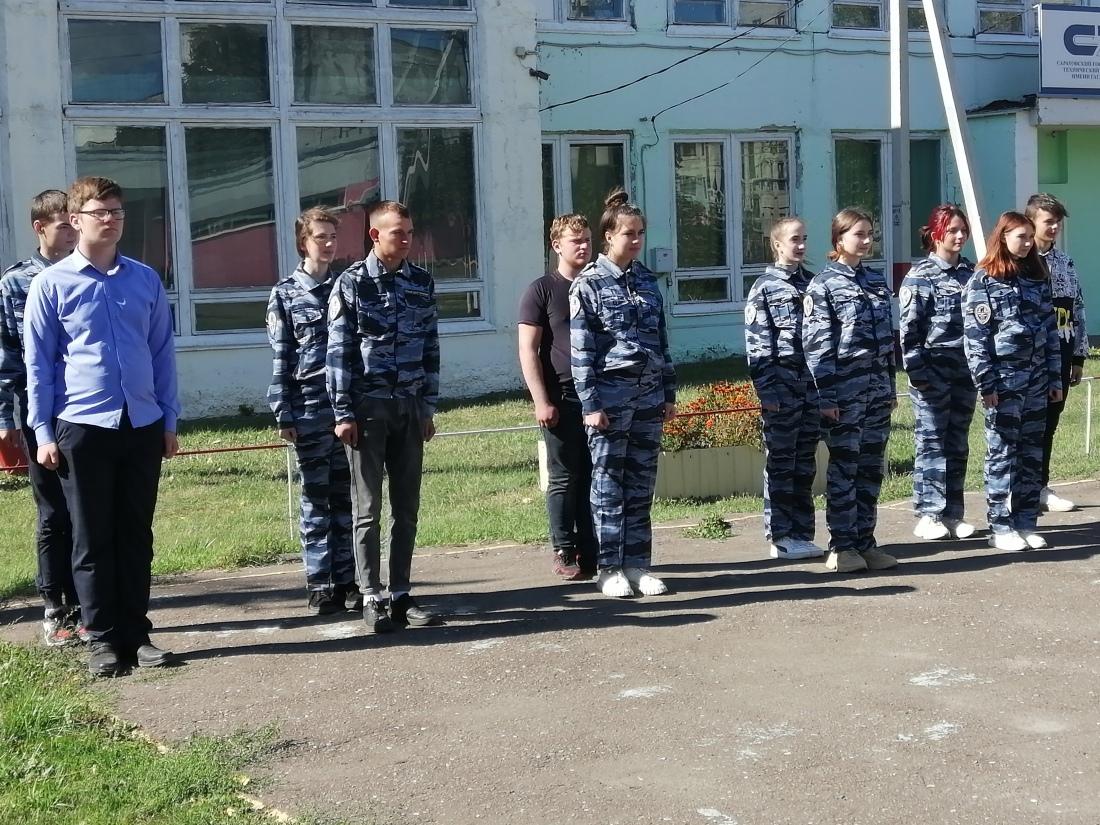 Продолжаются занятия отряда «Юный друг полиции» Петровского политеха