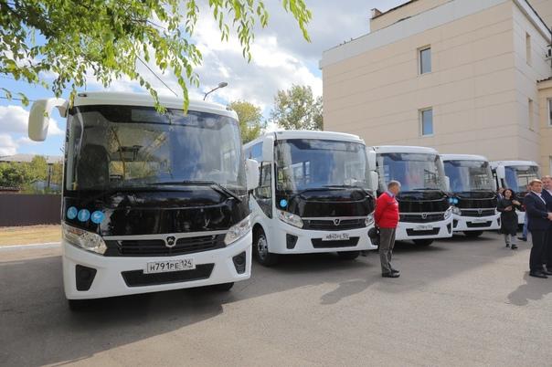 В Красноярском крае к 2025 году планируют заменить 30% старых автобусов краевого автопредприятия, а именно - 112