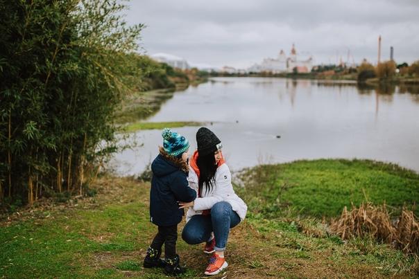 Фотосессия мама и ребенок в Сочи. Алина и Матвей 12.19