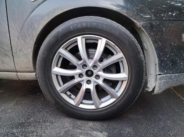 Продаю литые диски R/17 5*108(Форд) с зимней резиной Kumh...