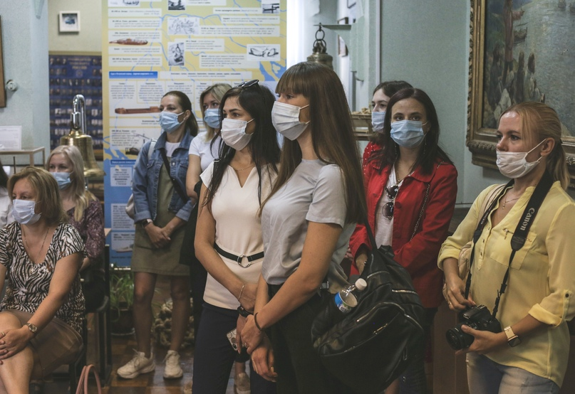 Сотрудники Кинокомпании «Союз Маринс Групп» посетили Музей речного флота, изображение №2
